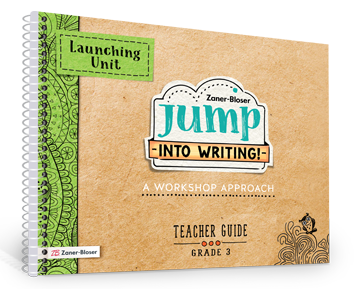 Jump Into Writing book cover