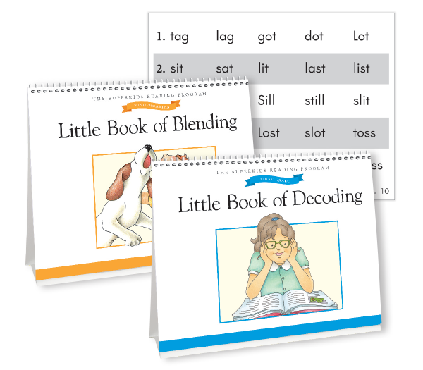 Little Book of Blending and Little Book of Decoding