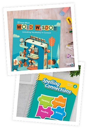 Word Wisdom and Spelling Connections book covers